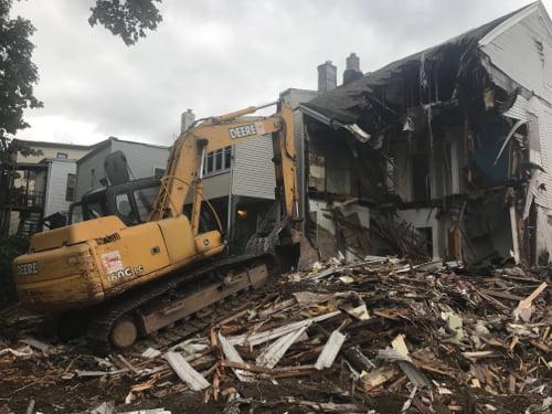 structural home demolition